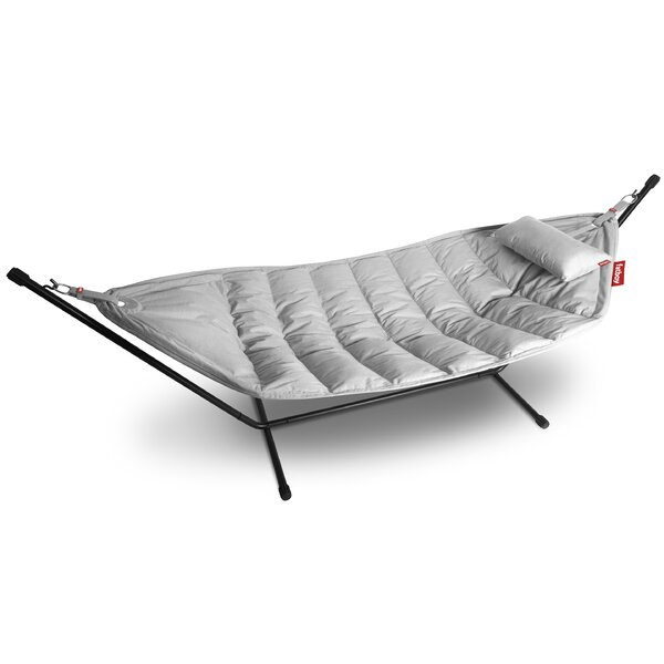 Outdoor Double Tree Hammock with Stand by Fatboy
