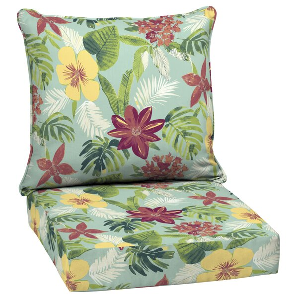 Tropical Indoor/Outdoor Seat/Back Cushion