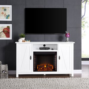 Cheswick 58 TV Standith  Electric Fireplace TV Stand Alcott Hill