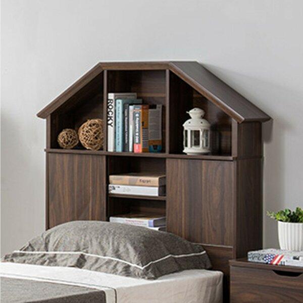 ArAgon Hut Bookcase Headboard by Trule Teen