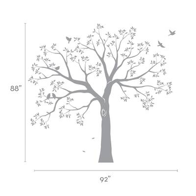 simpleshapes staircase family tree wall decal & reviews | wayfair