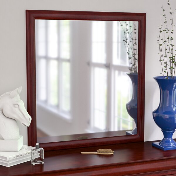 Homestead Rectangular Dresser Mirror by Three Posts