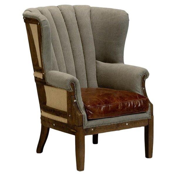 Marburg Wingback Chair by Sarreid Ltd