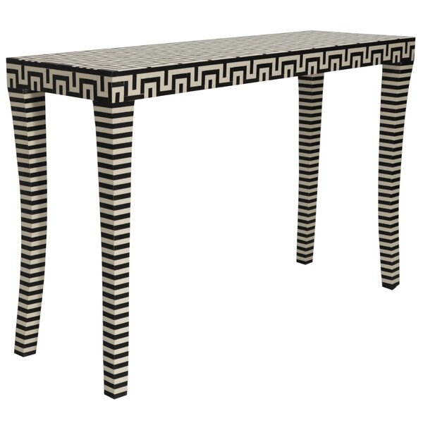 Worlds Away Black Console Tables