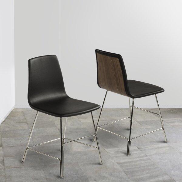 Ekero Genuine Leather Upholstered Dining Chair by dCOR design dCOR design