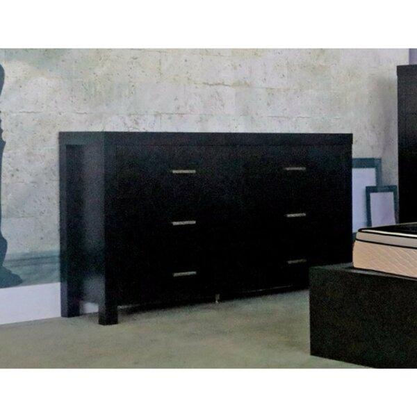 Paniagua Classy 6 Drawer Standard Dresser/Chest by Orren Ellis