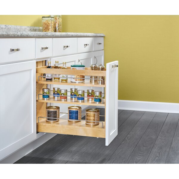 Wood Base Cabinet Pull Out Pantry by Rev-A-Shelf