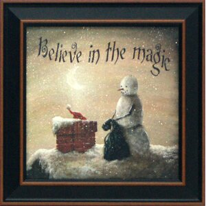 Believe in Magic by Margie McGinnis Framed Graphic Art by Artistic Reflections