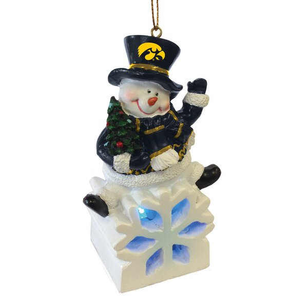 NCAA Snowman LED Ornament by Evergreen Enterprises, Inc