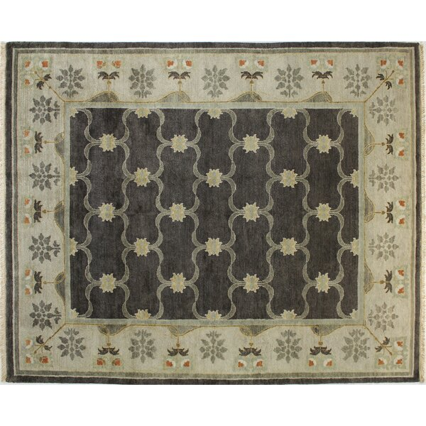 Wanstead Chocolate Area Rug by Canora Grey