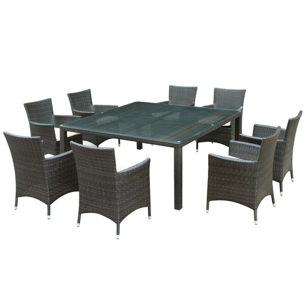 Channels 9 Piece Dining Set by Modway