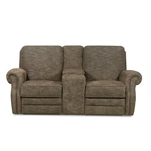 , Tigereye Badlands Walnut Reclining Loveseat