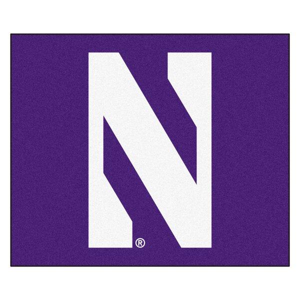 NCAA Northwestern University Tailgater Doormat by FANMATS
