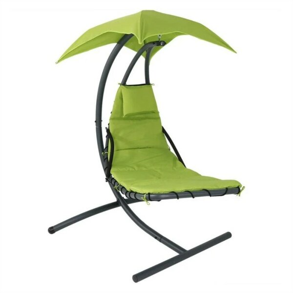 Romine Hanging Chaise Lounger with Stand