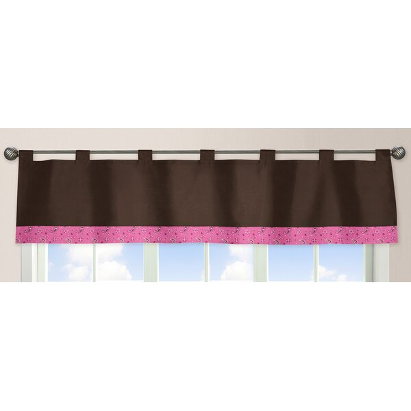 Cowgirl Tab Top 84 Curtain Valance by Sweet Jojo Designs