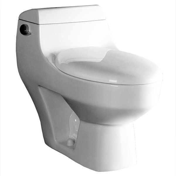Athena Contemporary 1.6 GPF Elongated One-Piece Toilet by Ariel Bath