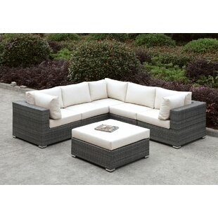 Peters 5 Piece Sectional Collection By Brayden Studio