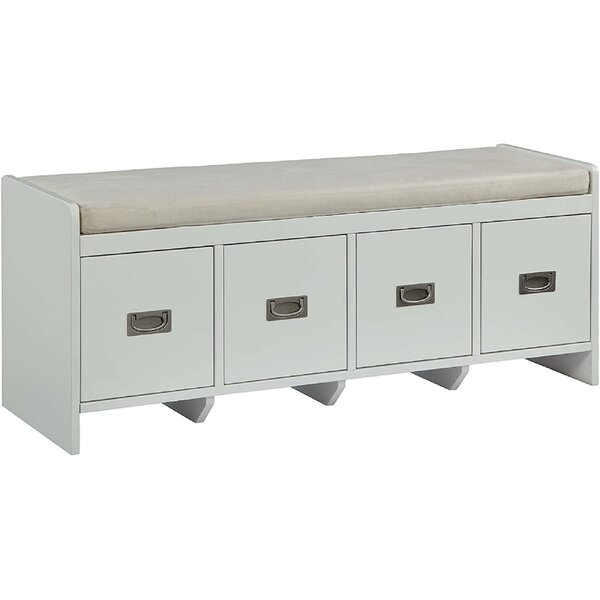 Azlee Drawers Storage Bench