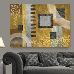 'Sonata' by Conrad Knutsen Graphic Art on Wrapped Canvas by Wexford Home