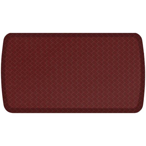 Basketweave Elite Premier Comfort Kitchen Mat