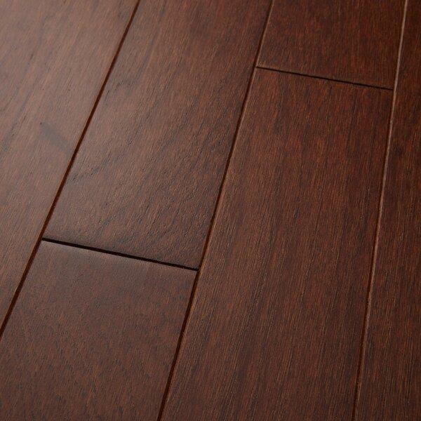 Americano 3 Engineered Hickory Hardwood Flooring in Russet by Welles Hardwood