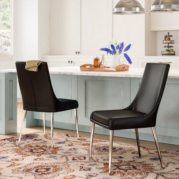 Niantic Upholstered Parsons Chair (Set of 2) by Orren Ellis Orren Ellis