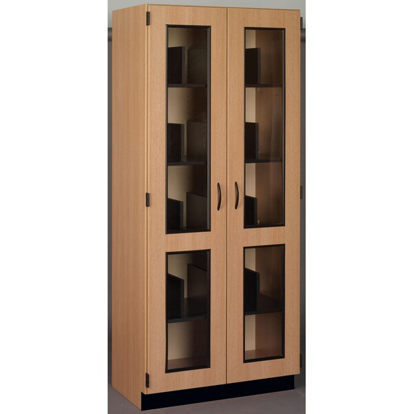 Science 12 Compartment Classroom Cabinet with Doors by Stevens ID Systems