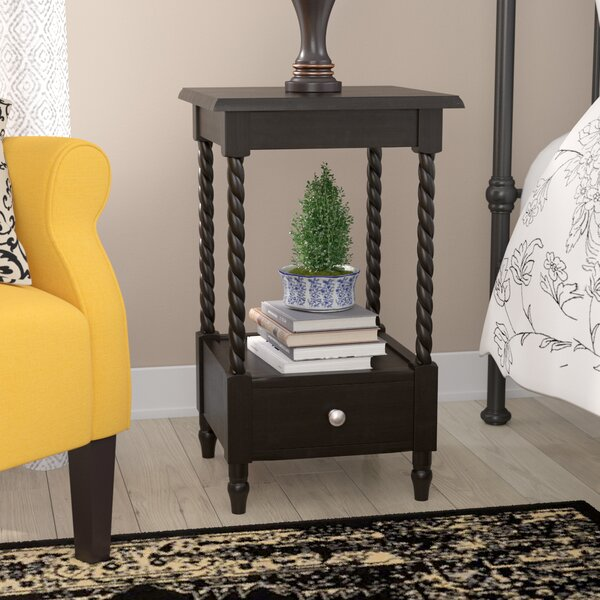 Pia 1 Drawer Nightstand by Andover Mills