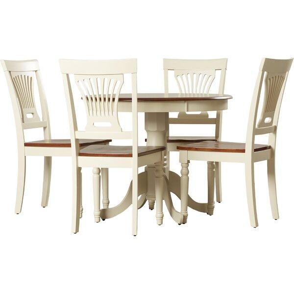 5 Piece Dining Sets darby home co wyatt 5 piece dining set & reviews | wayfair