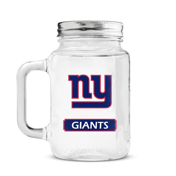 NFL Mason Jar by DuckHouse