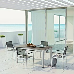 Coline 5 Piece Outdoor Dining Set By Orren Ellis