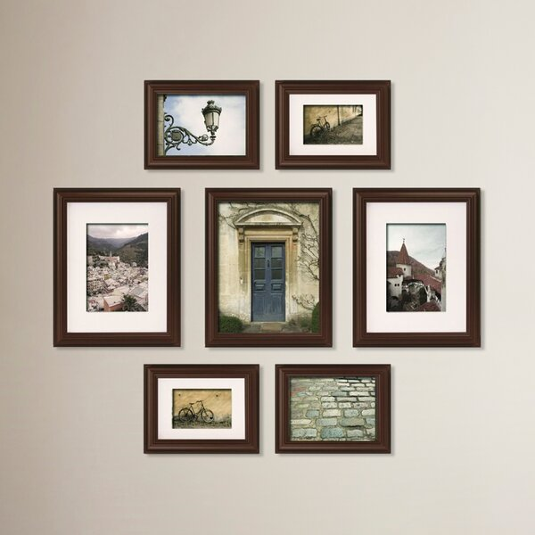 Morell Blackstone 7 Piece Gallery Snapshot Picture Frame Set by Red Barrel Studio
