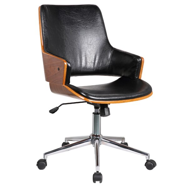 Solene Mid-Back Desk Chair by Porthos Home