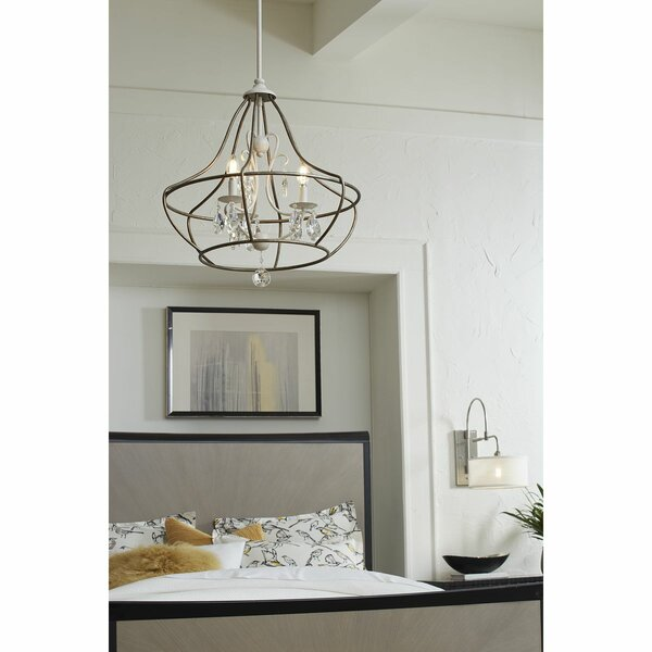 Laplante 3 - Light Candle Style Empire Chandelier By House Of Hampton