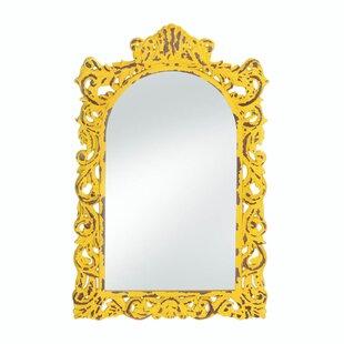 August Grove Sellar Distressed Wall Mirror