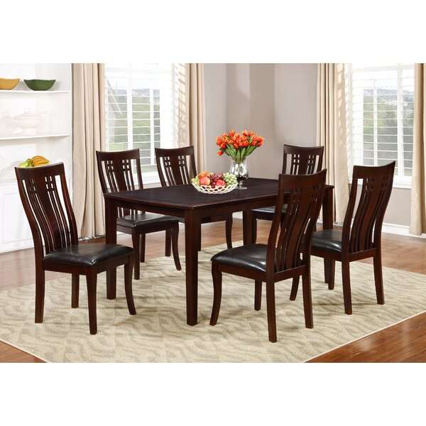Hannum 7 Piece Dining Set by Alcott Hill Alcott Hill