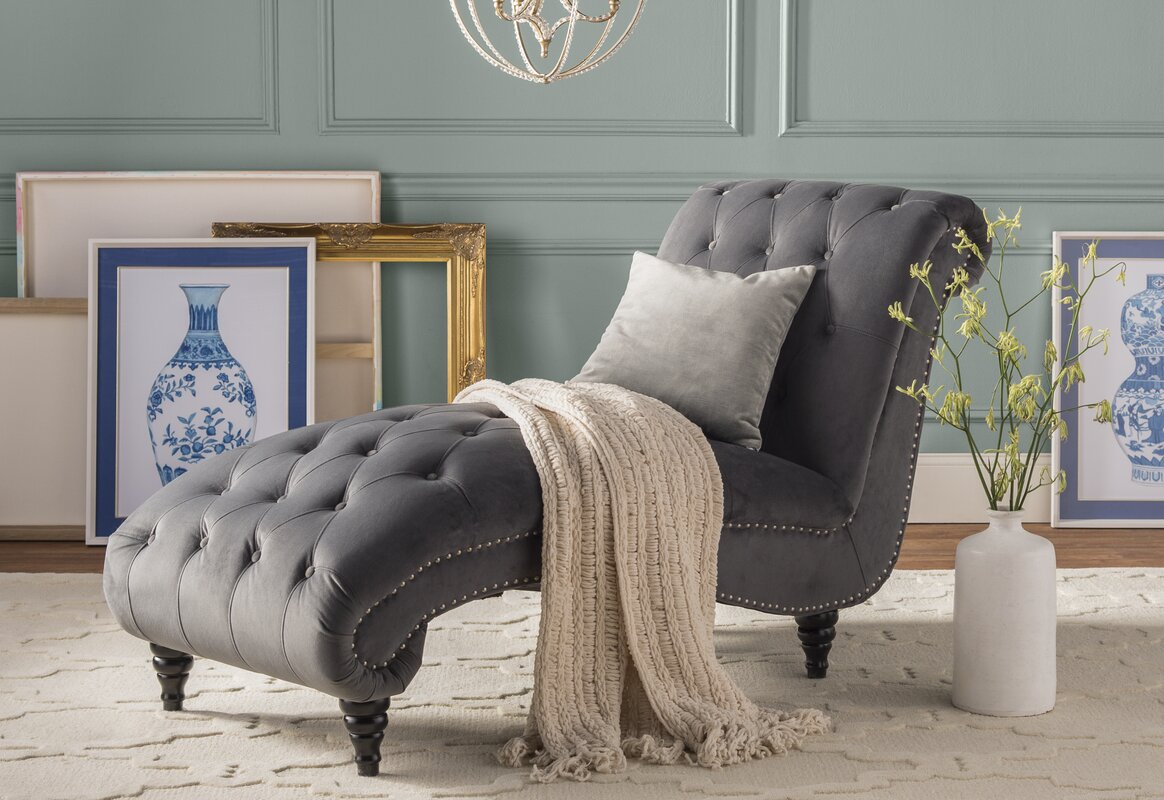 Willa arlo interiors hendrix chaise lounge reviews - Willa arlo interiors keeley bar cart ...