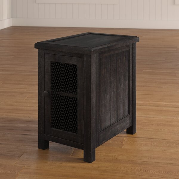 Fargo End Table With Storage by Laurel Foundry Modern Farmhouse