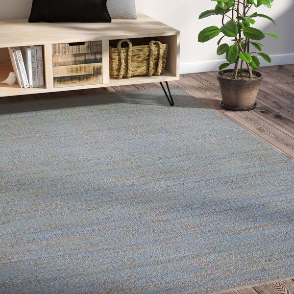 Lantz Hand-Woven Aqua Area Rug by Laurel Foundry Modern Farmhouse