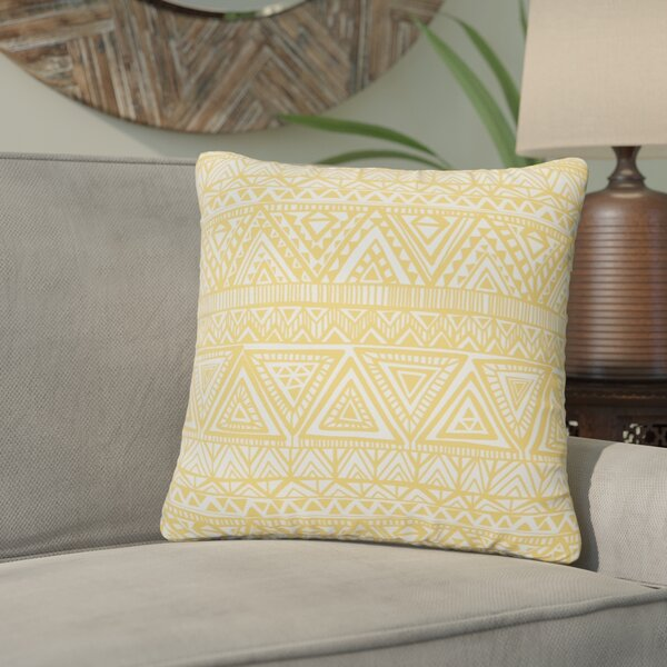 Diorio Indoor/Outdoor Throw Pillow (Set of 2) by Bungalow Rose