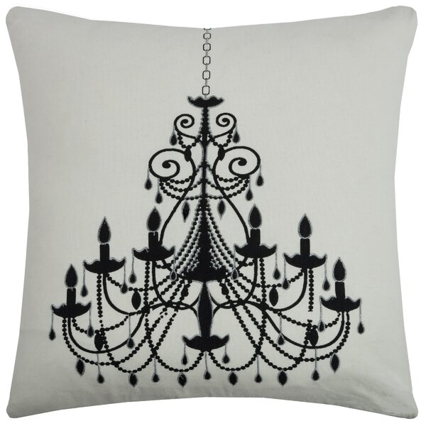 Charlzina  Cotton Throw Pillow by Wildon Home ®