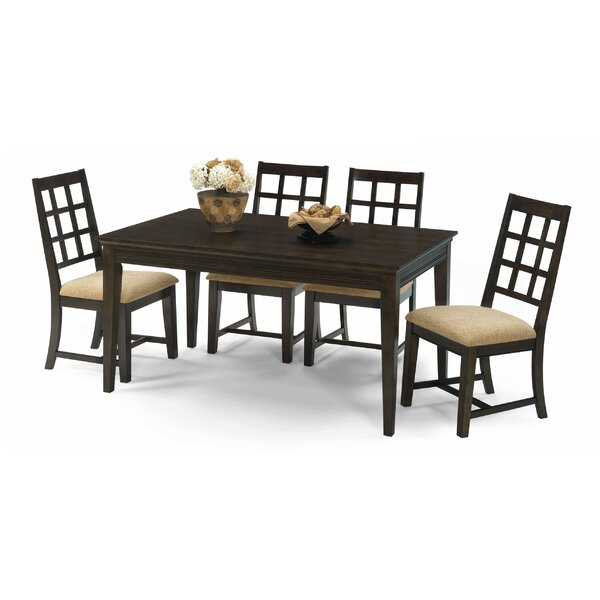 Bobbie 5 Piece Solid Wood Dining Set by Progressive Furniture Inc.