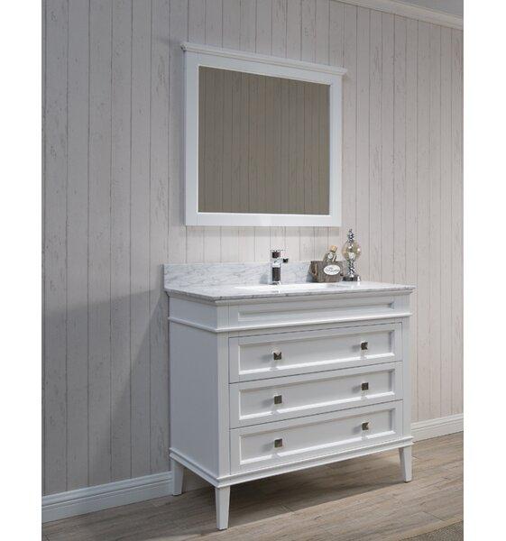 Briese 37 Single Bathroom Vanity Set with Mirror by Wrought StudioBriese 37 Single Bathroom Vanity Set with Mirror by Wrought Studio