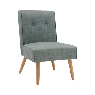 Hilary Button Tufted Slipper Chair