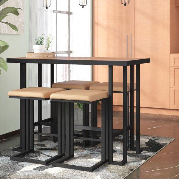 Calistoga 5 Piece Counter Height Dining Set by Union Rustic