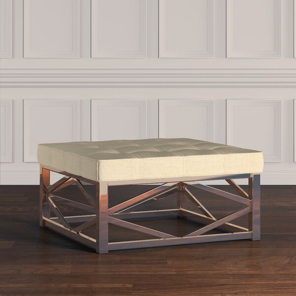 Gilham Ottoman By House Of Hampton Today Sale Only