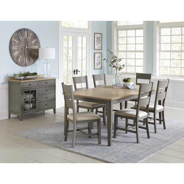 Azuela 7 Piece Extendable Dining Set by Canora Grey