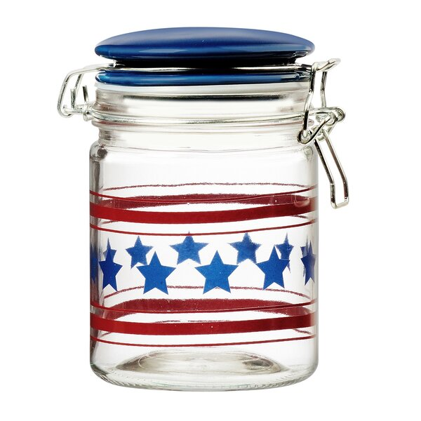 Americana 0.75 qt. Kitchen Canister by Global Amici