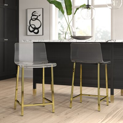 Full Back Counter Height Bar Stools You Ll Love In 2020