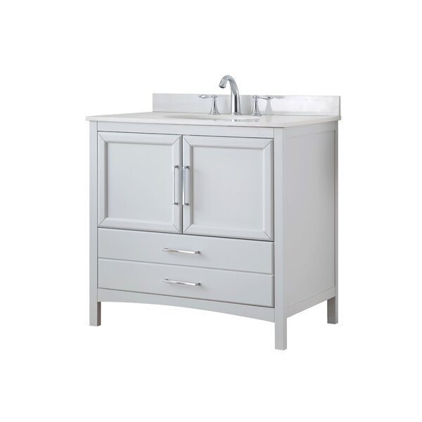 Joyce 36 Single Bathroom Vanity Set by Ove Decors